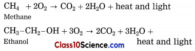 Carbon Compounds Science Notes 6