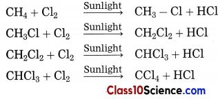 Carbon Compounds Science Notes 9