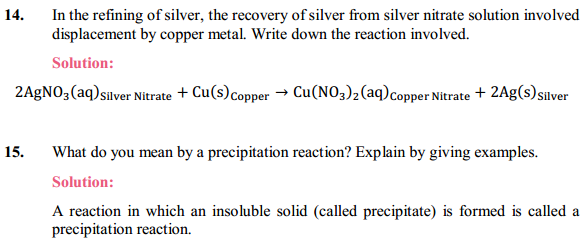 NCERT Solutions for Class 10 Science Chapter 1 Chemical Reactions and Equations 1.12