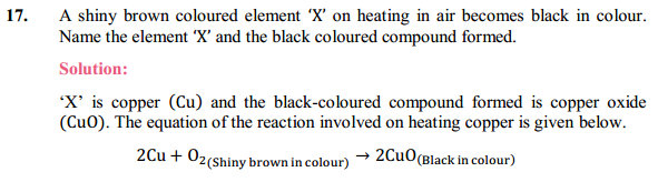 NCERT Solutions for Class 10 Science Chapter 1 Chemical Reactions and Equations 1.14