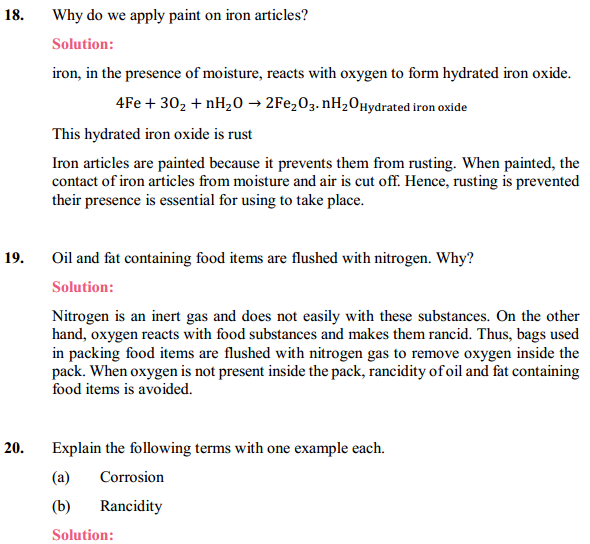NCERT Solutions for Class 10 Science Chapter 1 Chemical Reactions and Equations 1.15