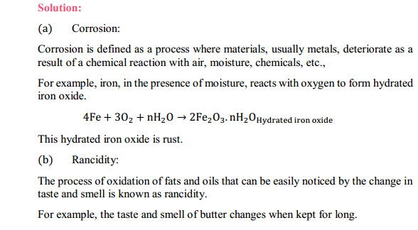 NCERT Solutions for Class 10 Science Chapter 1 Chemical Reactions and Equations 1.16