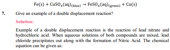 NCERT Solutions for Class 10 Science Chapter 1 Chemical Reactions and Equations 1.20