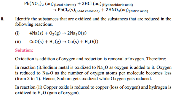 NCERT Solutions for Class 10 Science Chapter 1 Chemical Reactions and Equations 1.21