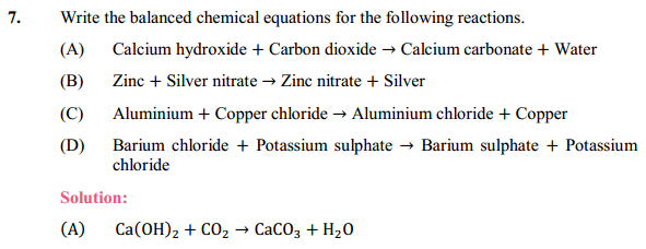NCERT Solutions for Class 10 Science Chapter 1 Chemical Reactions and Equations 1.6