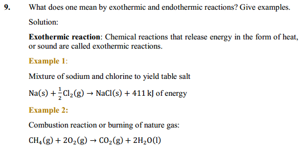 NCERT Solutions for Class 10 Science Chapter 1 Chemical Reactions and Equations 1.8