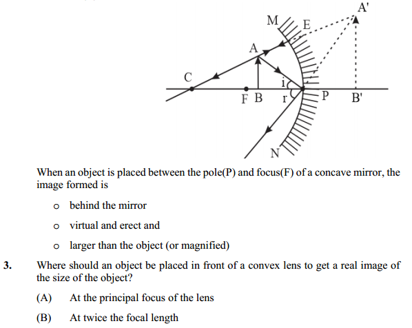 NCERT Solutions for Class 10 Science Chapter 10 Light Reflection and Refraction 10