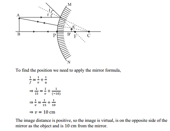 NCERT Solutions for Class 10 Science Chapter 10 Light Reflection and Refraction 19