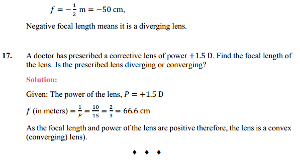 NCERT Solutions for Class 10 Science Chapter 10 Light Reflection and Refraction 23