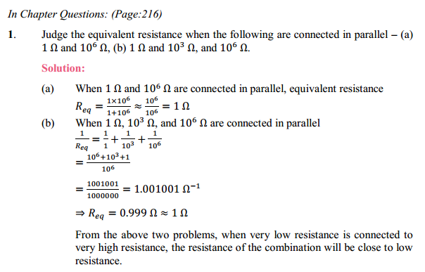 NCERT Solutions for Class 10 Science Chapter 12 Electricity 11