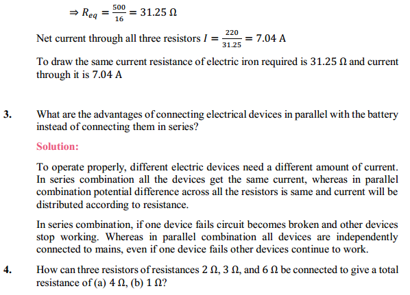 NCERT Solutions for Class 10 Science Chapter 12 Electricity 13