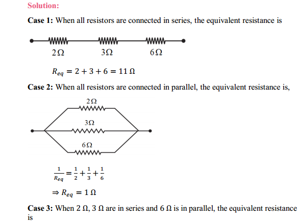 NCERT Solutions for Class 10 Science Chapter 12 Electricity 14