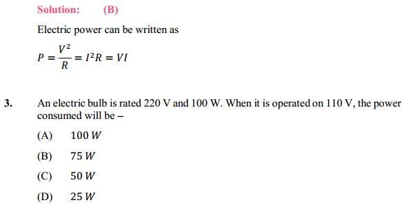 NCERT Solutions for Class 10 Science Chapter 12 Electricity 22