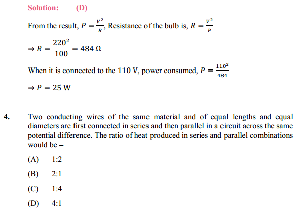 NCERT Solutions for Class 10 Science Chapter 12 Electricity 23