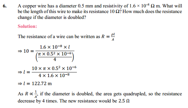 NCERT Solutions for Class 10 Science Chapter 12 Electricity 25