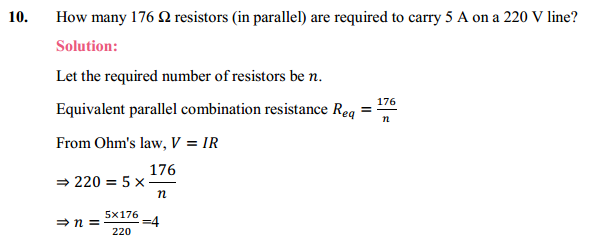NCERT Solutions for Class 10 Science Chapter 12 Electricity 28