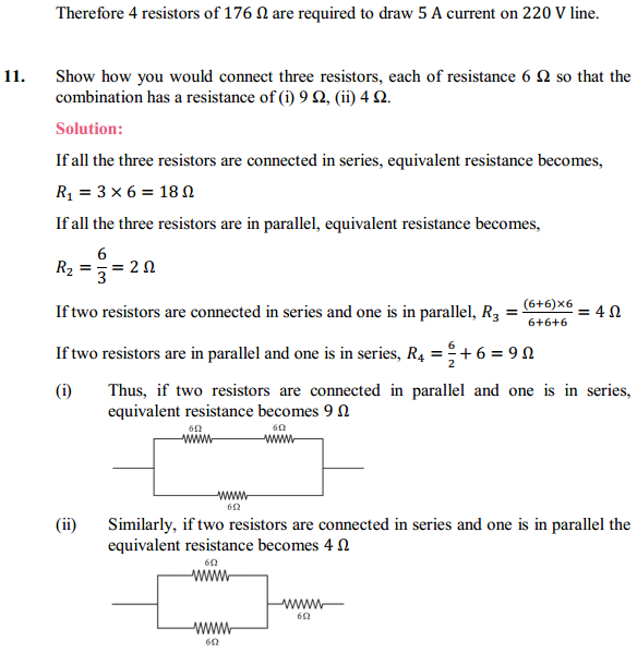 NCERT Solutions for Class 10 Science Chapter 12 Electricity 29