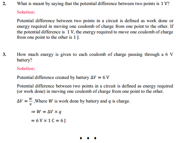 NCERT Solutions for Class 10 Science Chapter 12 Electricity 3