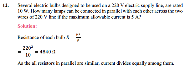 NCERT Solutions for Class 10 Science Chapter 12 Electricity 30