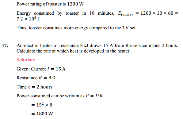 NCERT Solutions for Class 10 Science Chapter 12 Electricity 35