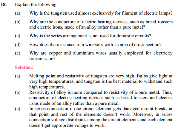 NCERT Solutions for Class 10 Science Chapter 12 Electricity 36