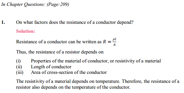 NCERT Solutions for Class 10 Science Chapter 12 Electricity 4