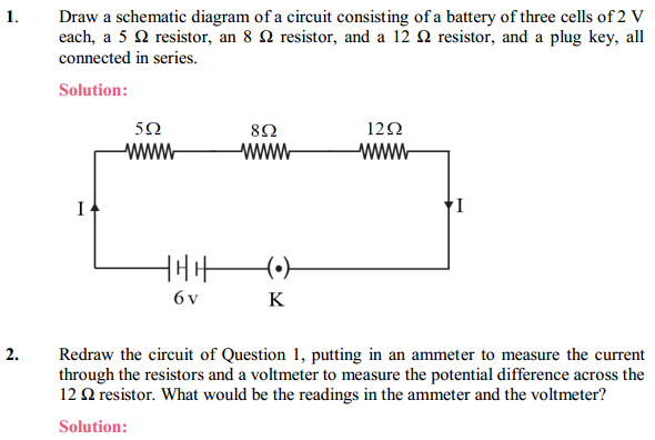 NCERT Solutions for Class 10 Science Chapter 12 Electricity 9