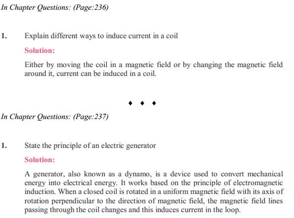 NCERT Solutions for Class 10 Science Chapter 13 Magnetic Effects of Electric Current 10