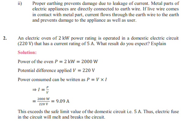 NCERT Solutions for Class 10 Science Chapter 13 Magnetic Effects of Electric Current 13