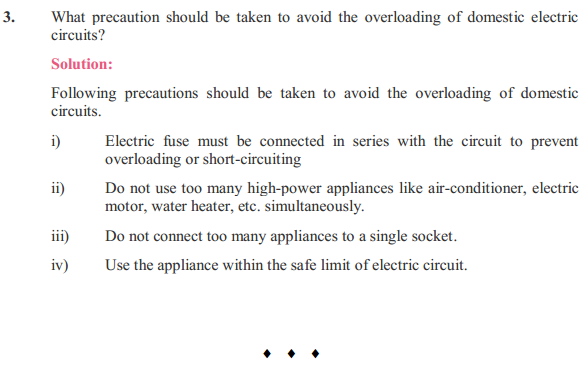 NCERT Solutions for Class 10 Science Chapter 13 Magnetic Effects of Electric Current 14
