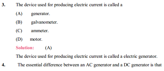 NCERT Solutions for Class 10 Science Chapter 13 Magnetic Effects of Electric Current 16