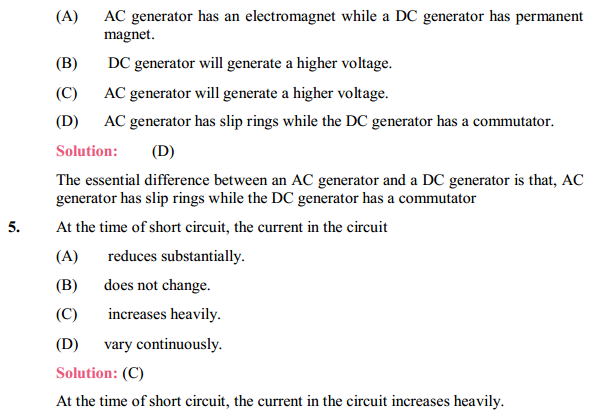 NCERT Solutions for Class 10 Science Chapter 13 Magnetic Effects of Electric Current 17