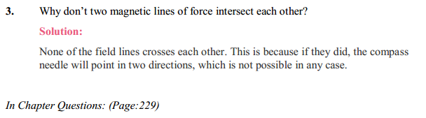 NCERT Solutions for Class 10 Science Chapter 13 Magnetic Effects of Electric Current 2