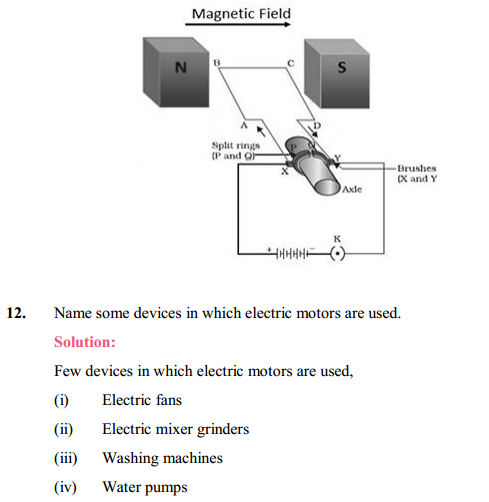 NCERT Solutions for Class 10 Science Chapter 13 Magnetic Effects of Electric Current 23