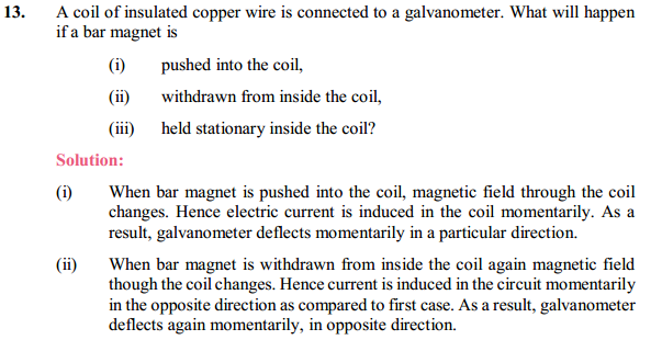 NCERT Solutions for Class 10 Science Chapter 13 Magnetic Effects of Electric Current 24