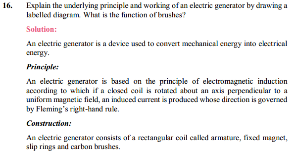 NCERT Solutions for Class 10 Science Chapter 13 Magnetic Effects of Electric Current 26