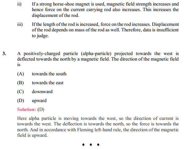 NCERT Solutions for Class 10 Science Chapter 13 Magnetic Effects of Electric Current 7