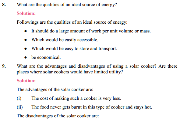 NCERT Solutions for Class 10 Science Chapter 14 Sources of Energy 12