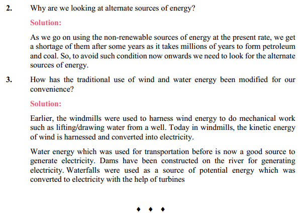 NCERT Solutions for Class 10 Science Chapter 14 Sources of Energy 3