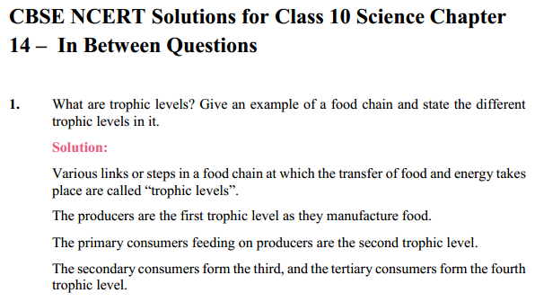 NCERT Solutions for Class 10 Science Chapter 15 Our Environment 8