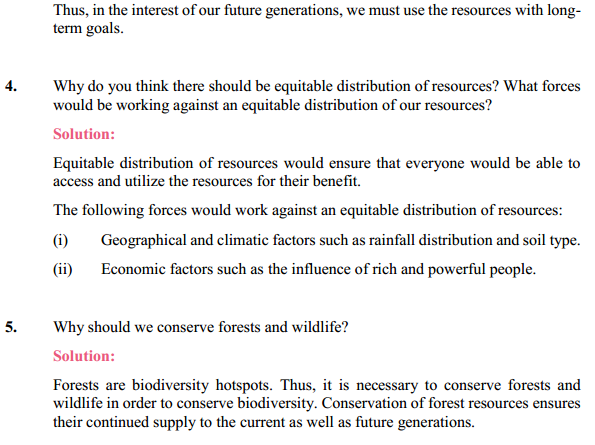 NCERT Solutions for Class 10 Science Chapter 16 Management of Natural Resources 11