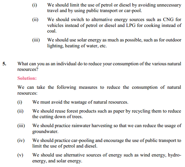 NCERT Solutions for Class 10 Science Chapter 16 Management of Natural Resources 5