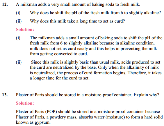 NCERT Solutions for Class 10 Science Chapter 2 Acids, Bases and Salts 10