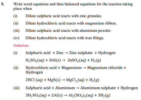 NCERT Solutions for Class 10 Science Chapter 2 Acids, Bases and Salts 4