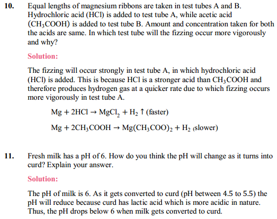 NCERT Solutions for Class 10 Science Chapter 2 Acids, Bases and Salts 9