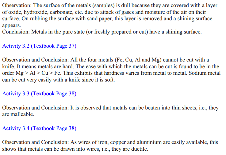 NCERT Solutions for Class 10 Science Chapter 3 Metals and Non-Metals 20