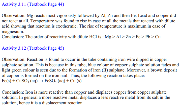 NCERT Solutions for Class 10 Science Chapter 3 Metals and Non-Metals 24