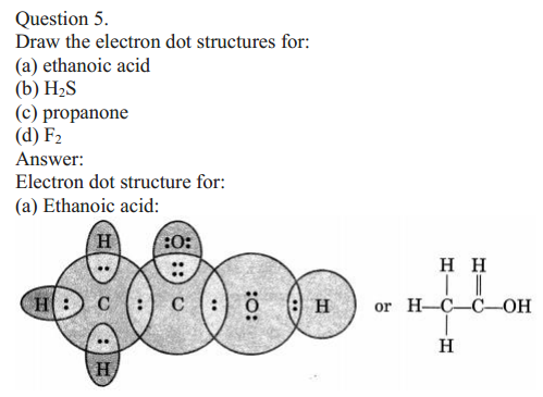 NCERT Solutions for Class 10 Science Chapter 4 Carbon and Its Compounds 16