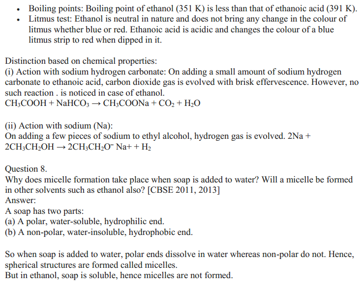 NCERT Solutions for Class 10 Science Chapter 4 Carbon and Its Compounds 19