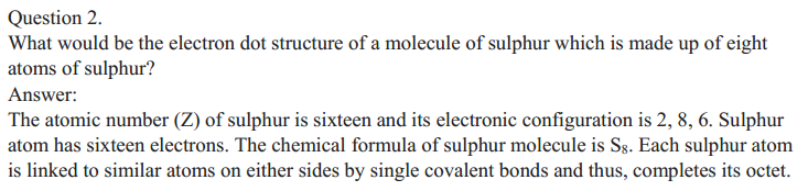 NCERT Solutions for Class 10 Science Chapter 4 Carbon and Its Compounds 2
